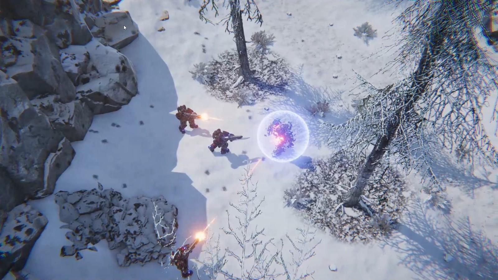 俯视角科幻动作游戏《黑风》试玩版上架Steam 利用机甲击退外星人