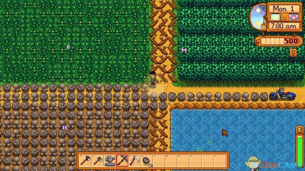 《星露谷物语》海量素材农场地图MOD