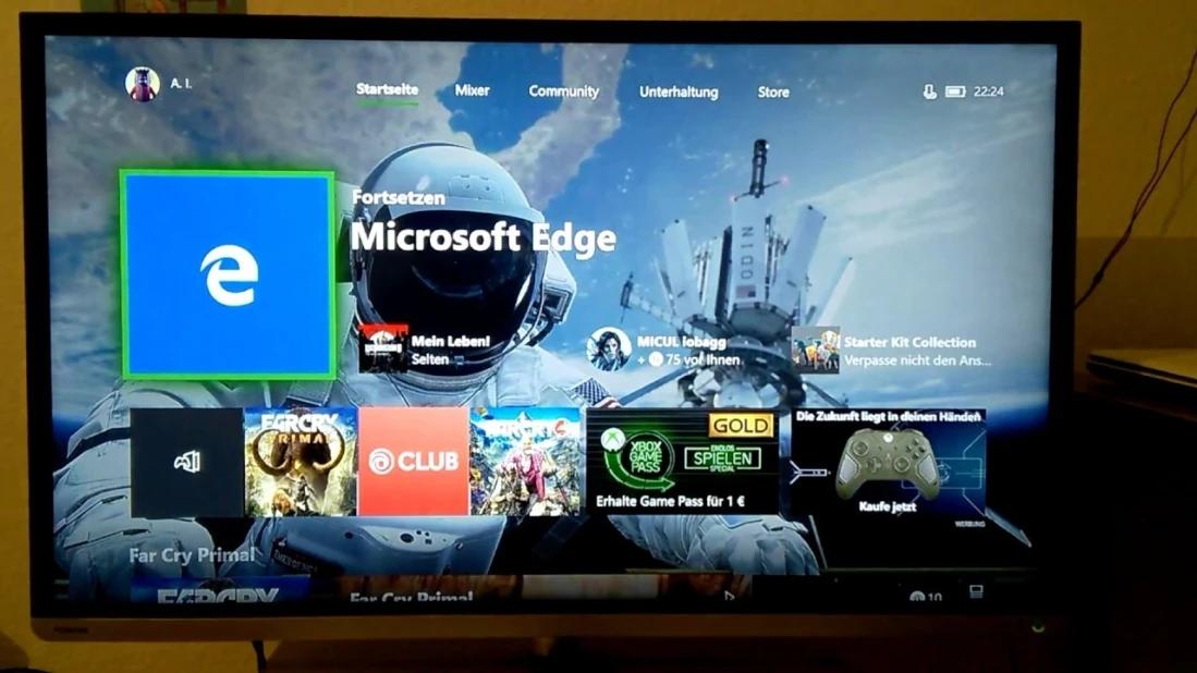 Xbox系统9月更新:游玩列表等页面将支持最新Edge浏览器