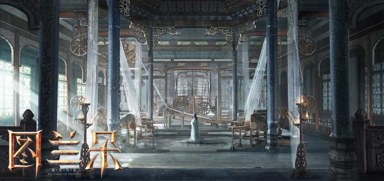 关晓彤《图兰朵:魔咒缘起》制作特辑 拍摄场景宏大