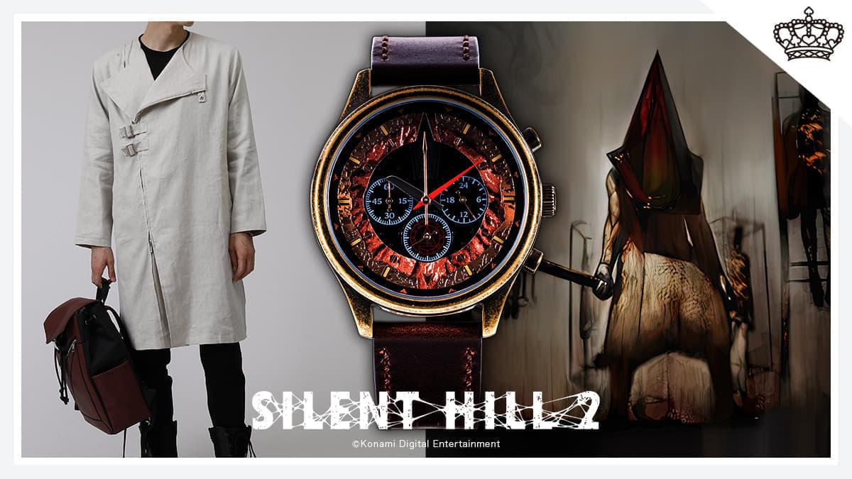 《寂静岭2》经典三角头主题腕表公开 精致做工细节出众
