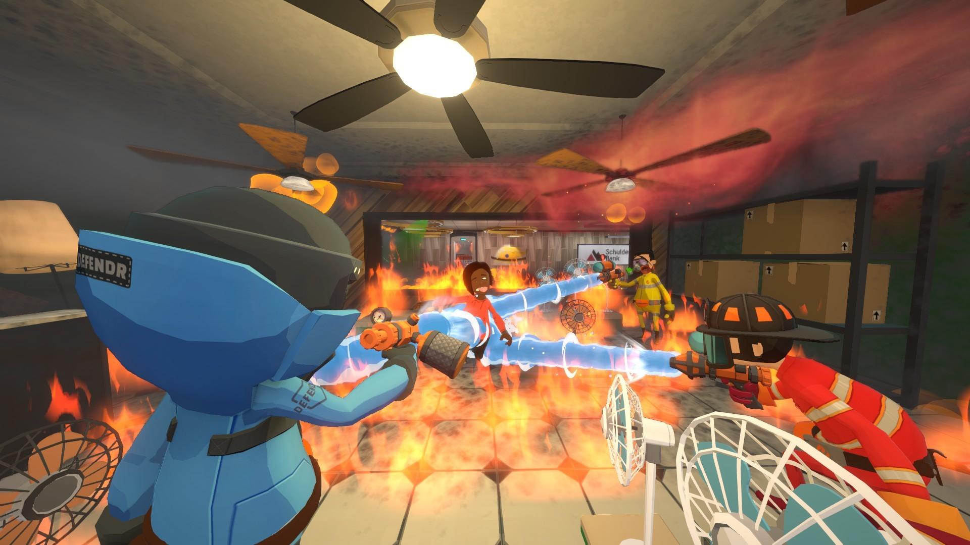 合作救火游戏《灭火先锋》Steam正式发售 国区首发特惠56元
