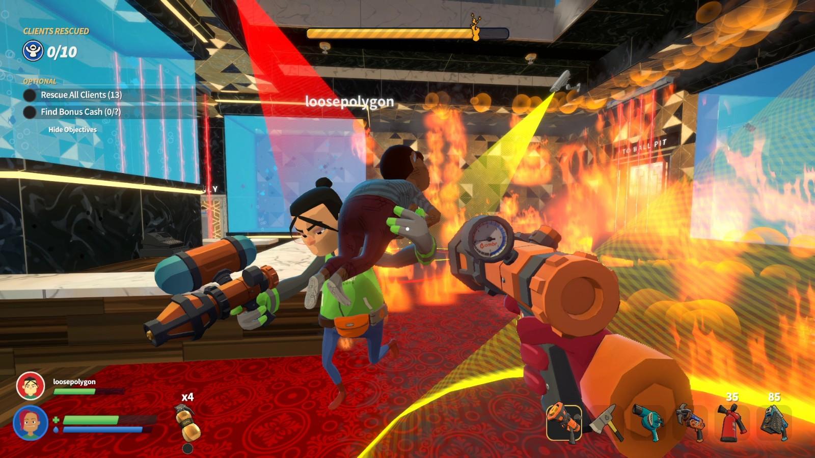 合作救火游戏《灭火先锋》Steam正式发售 售价56元