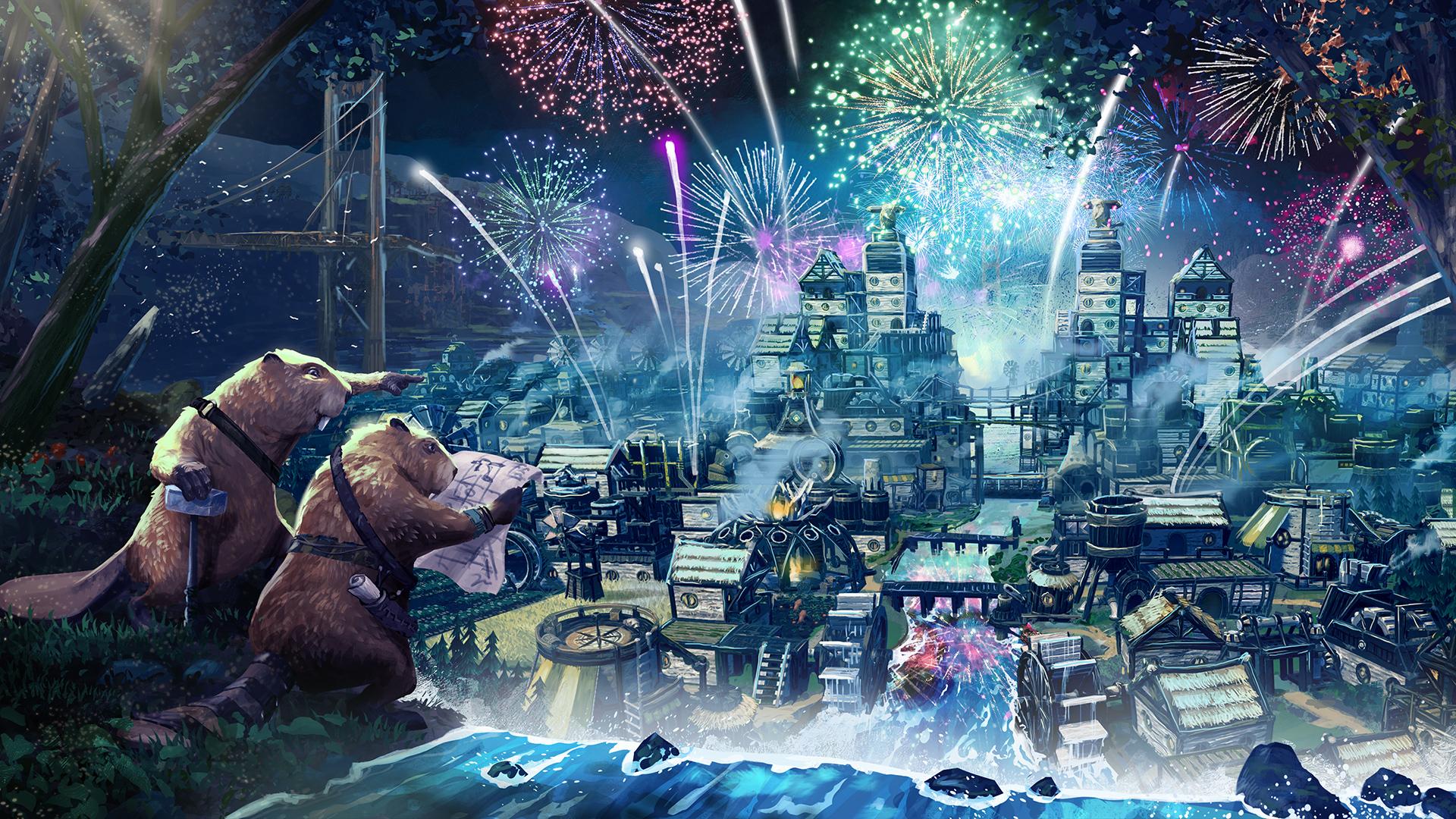 《Timberborn》发售7天销量超13万 Steam好评如潮