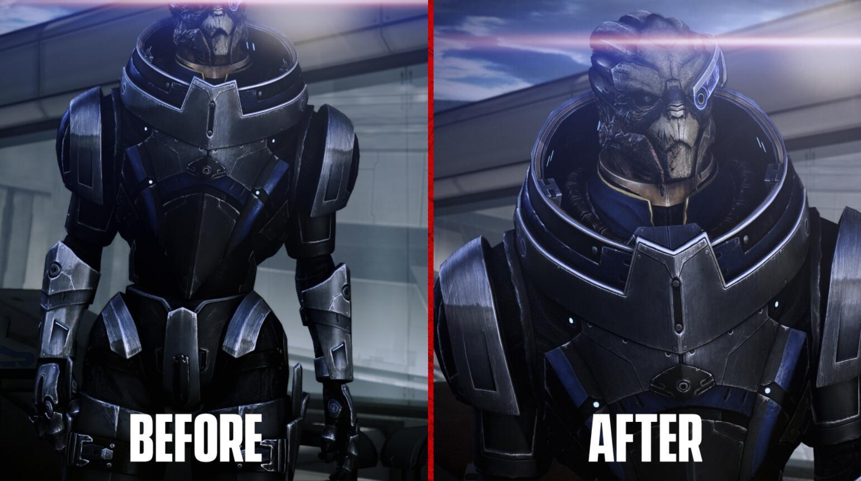 《质量效应3:传奇版》社区补丁 角色的黑牙美白了
