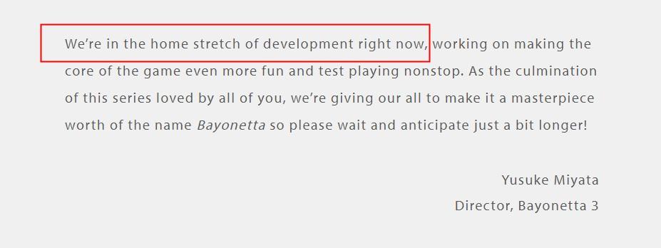 《猎天使魔女3》已进入最终开发阶段 白金将全力以赴