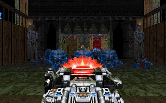 经典游戏《毁灭战士2》大型新MOD上线 新地狱开启