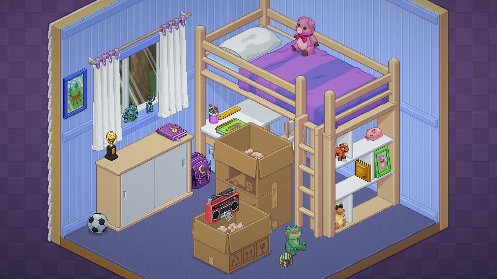 搬家布置游戏《Unpacking》发售日公开 支持简中