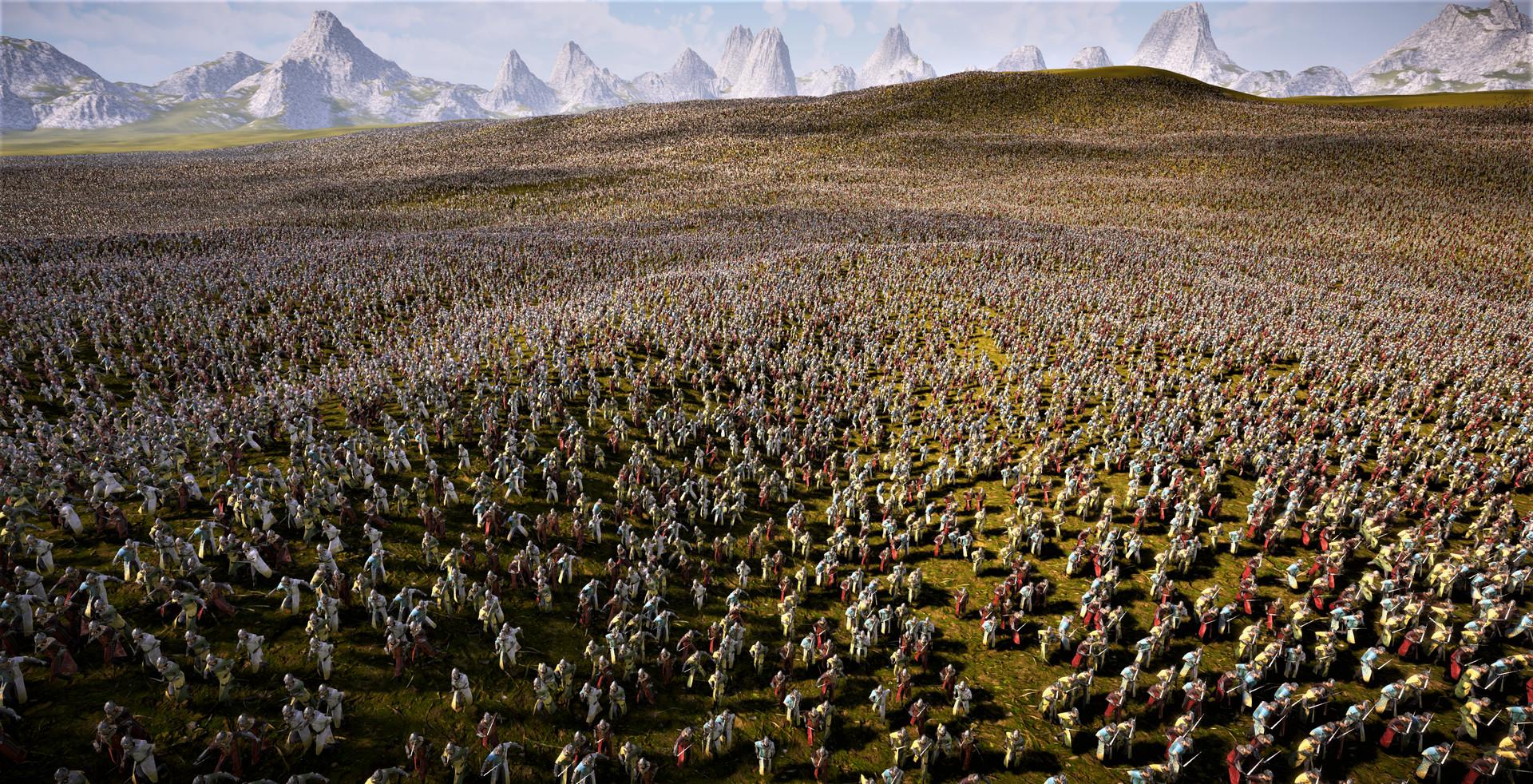 《史诗战争模拟器2》为提高品质 延期至明年春季发售