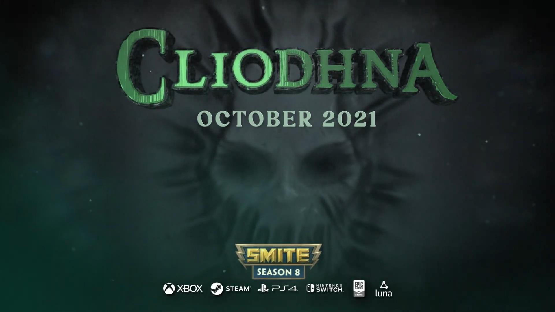 《神之浩劫》新神明Cliodhna预告片 10月正式上线