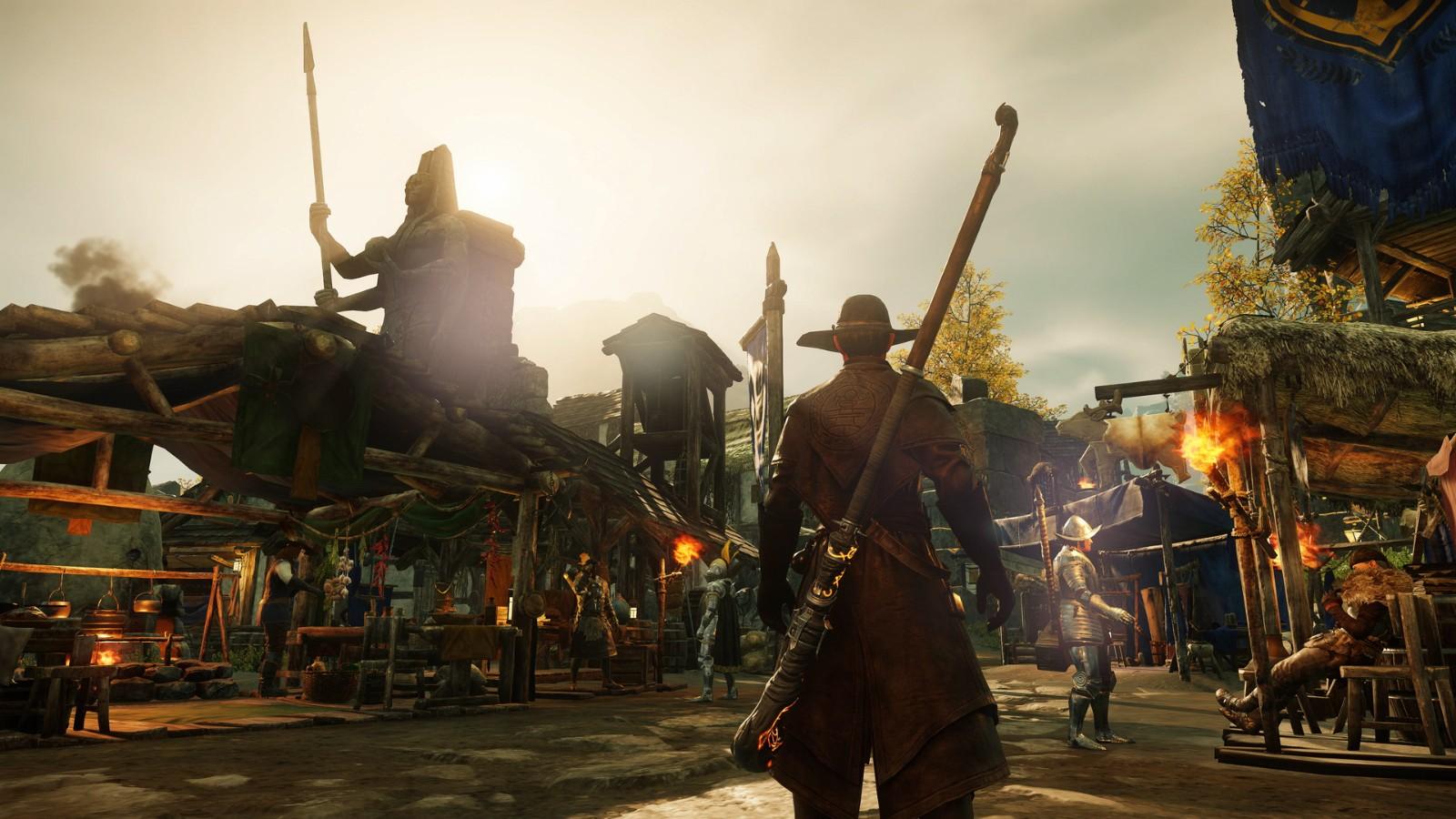 """《新世界》Steam在线超47万 目前玩家评价为""""褒贬不一"""""""