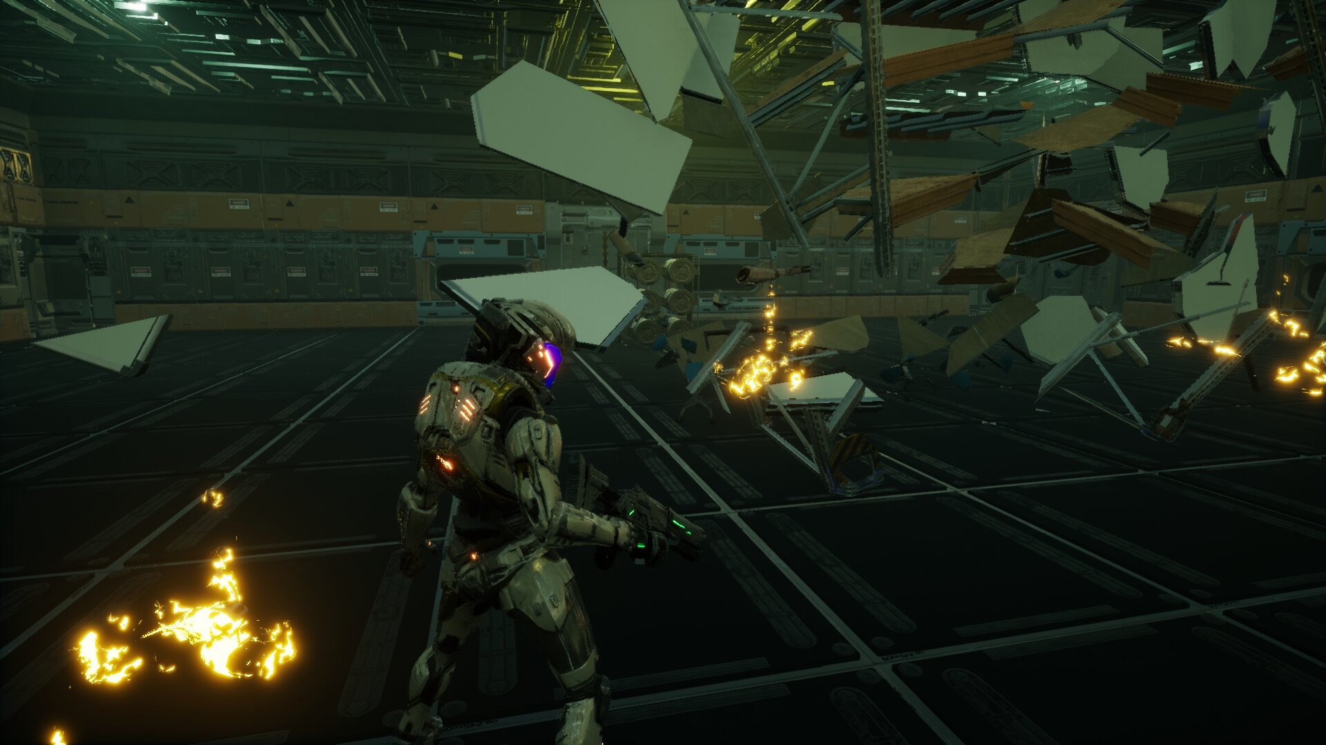 数据空间的无尽战斗 国产第三人称射击游戏《战斗躯壳》公布