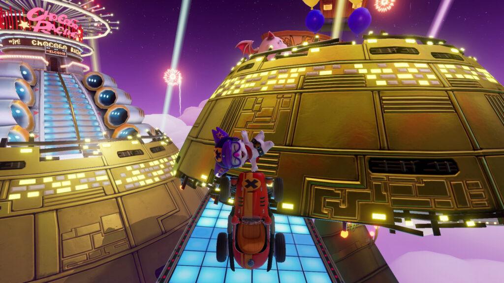 TGS 2021:《陆行鸟赛车GP》发布多个游玩演示视频