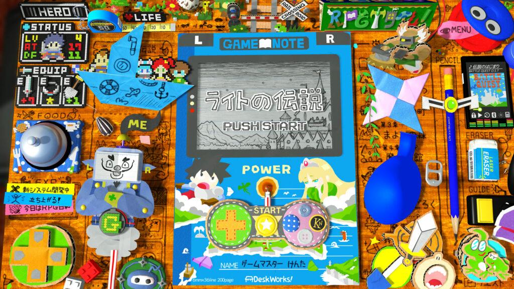 《RPG时间!莱特传说》发布正式预告片 首发将支持英日语言选项