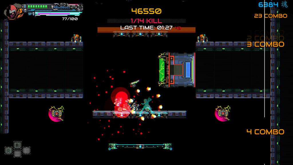 TGS 2021:赛博横板动作游戏《忍者一闪》最新预告