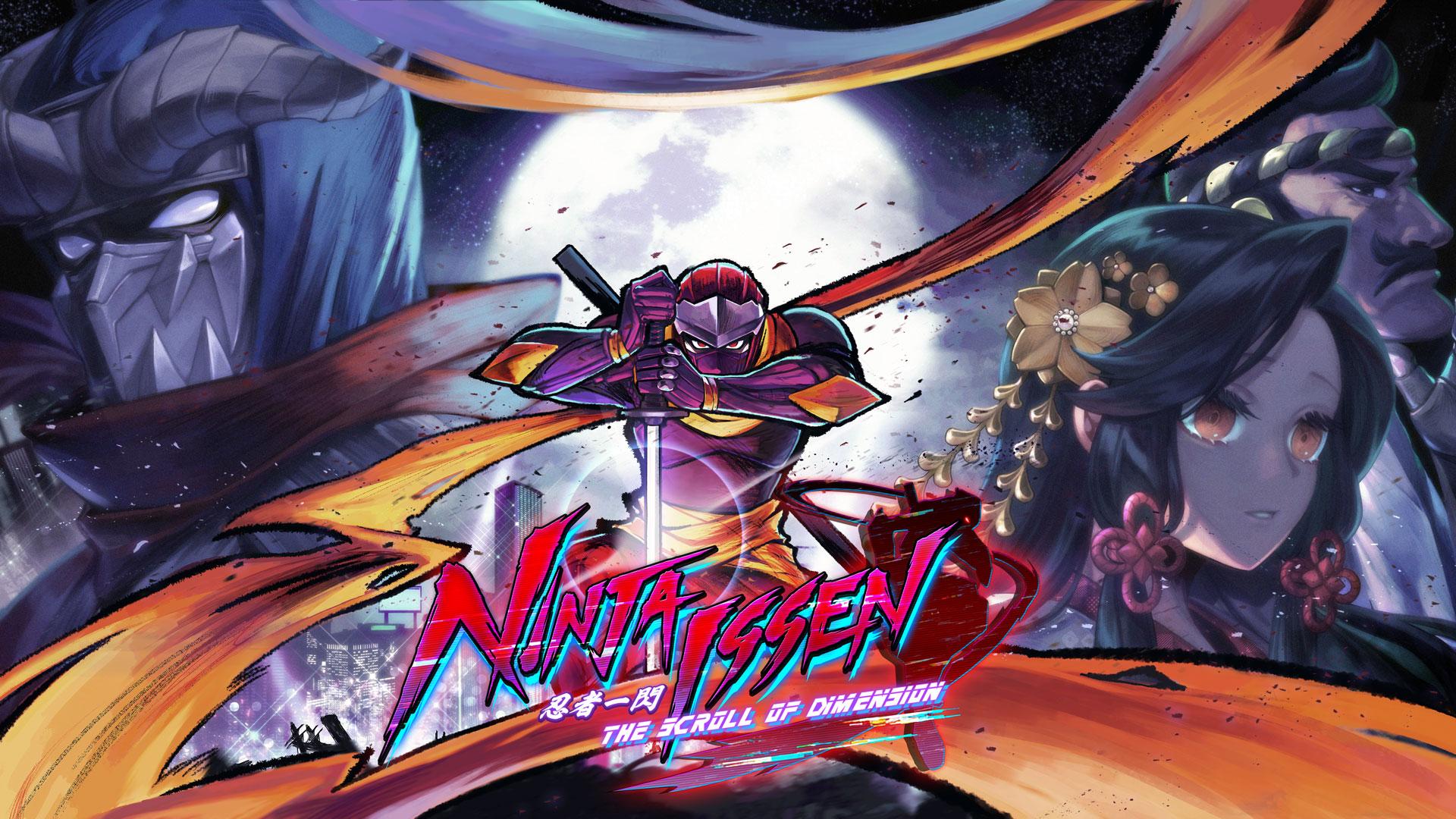 赛博横板动作游戏《忍者一闪》最新预告 具备超级动作、一对多战斗能元素