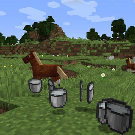 《我的世界》1.17.1更多动物奶MOD