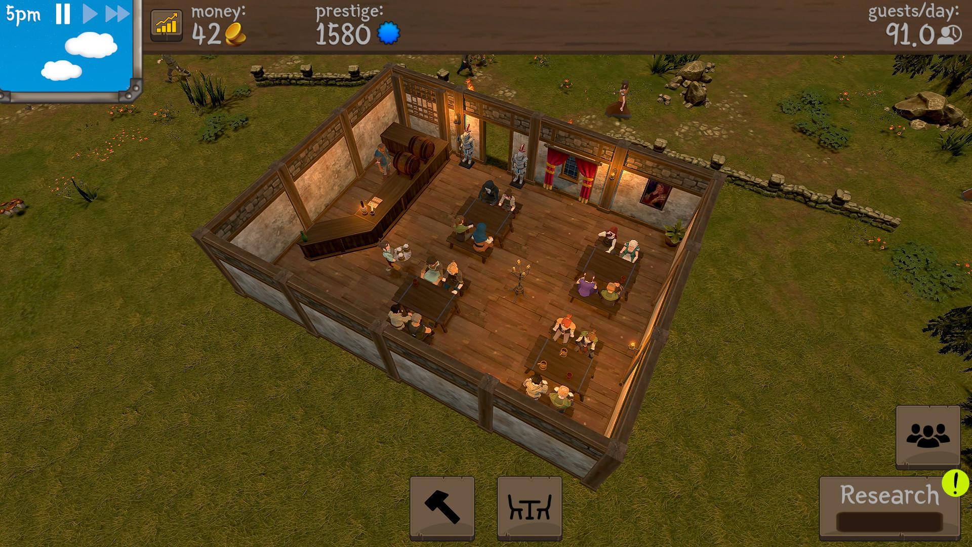 模拟经营游戏《酒馆带师》上架Steam 11月16日发售