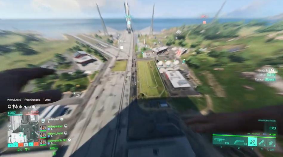 《Apex英雄》玩家已经发现《战地2042》高速移动技巧