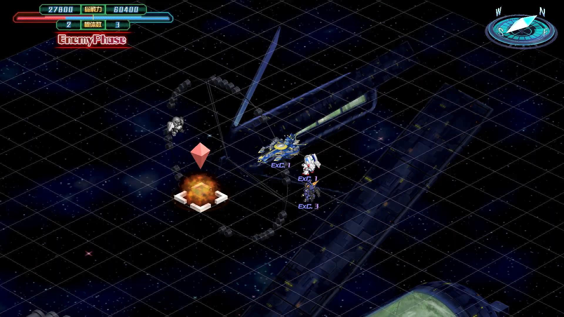 《超级机器人大战30》实机演示Part2:战斗编