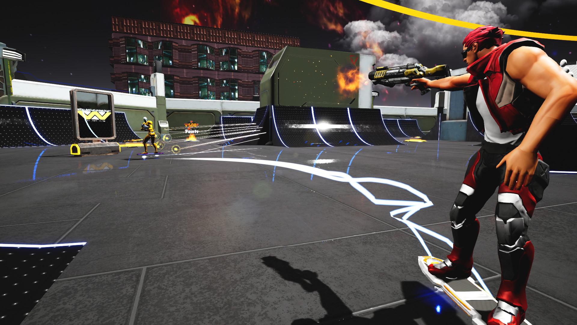 另类射击游戏《TrickShot》试玩Demo现已上线 2022年发售