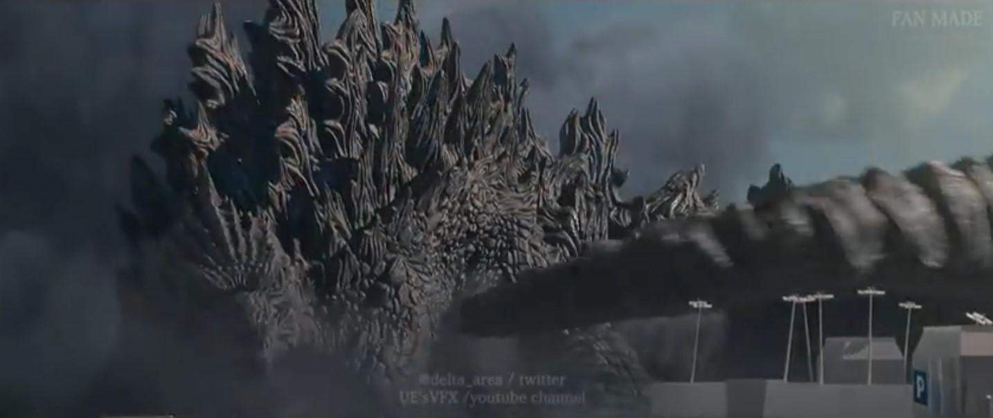 饭制「哥斯拉大战加美拉」CG动画 堪比大片