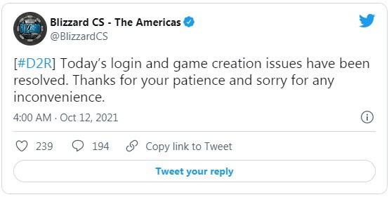 《暗黑破坏神2:重制版》发售数周后仍有服务器问题 暴雪连线小时后称问题已解决阿里云vps服务器