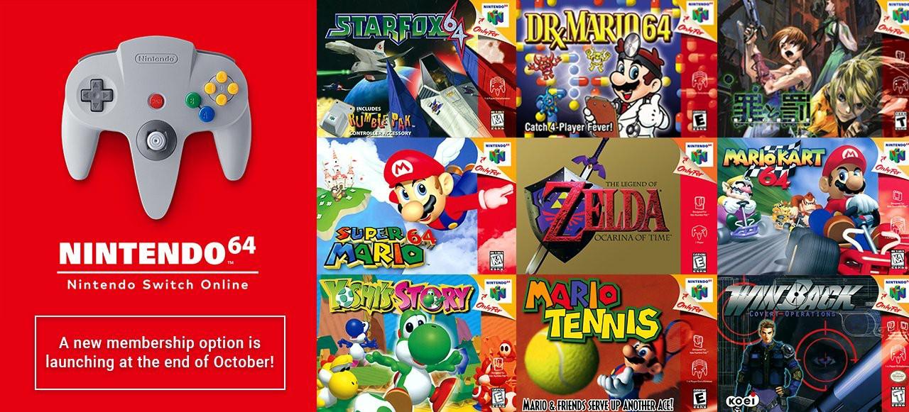 欧洲任天堂确认Switch上的N64游戏为60Hz