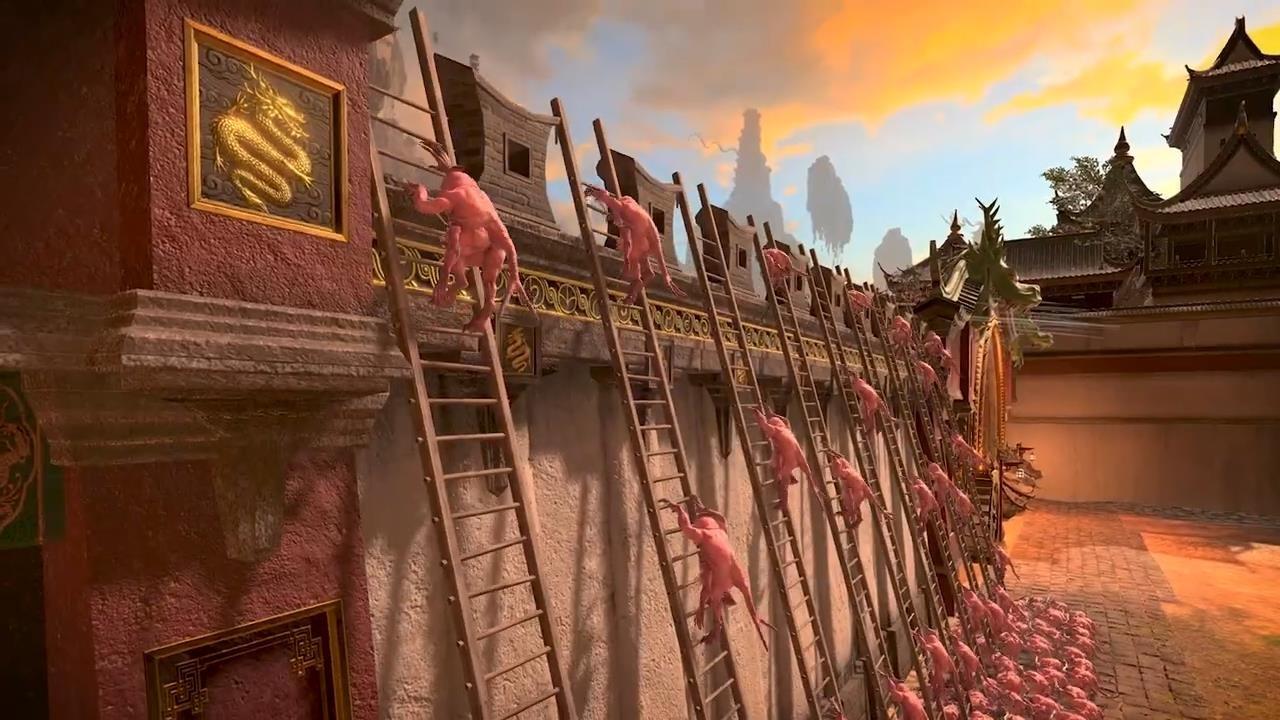 《全面战争:战锤3》新演示 新攻城战系统展示