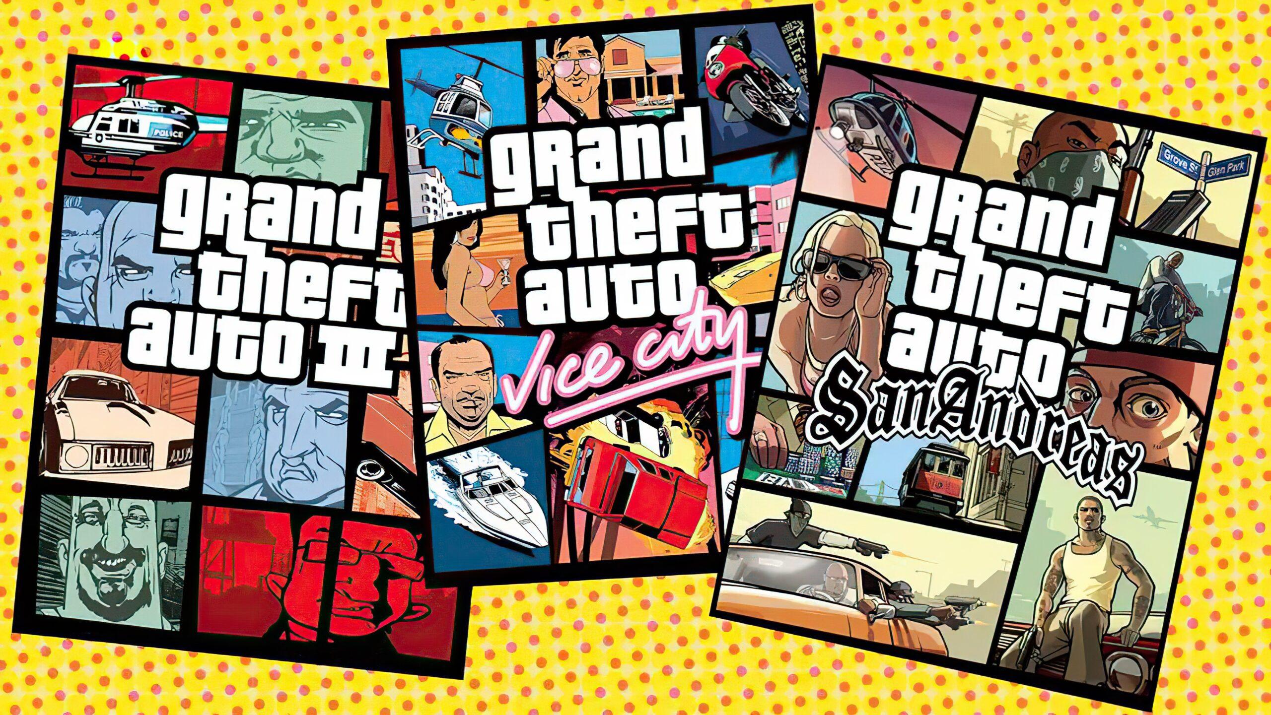 R星启动器泄露《GTA:三部曲-终极版》全部成就