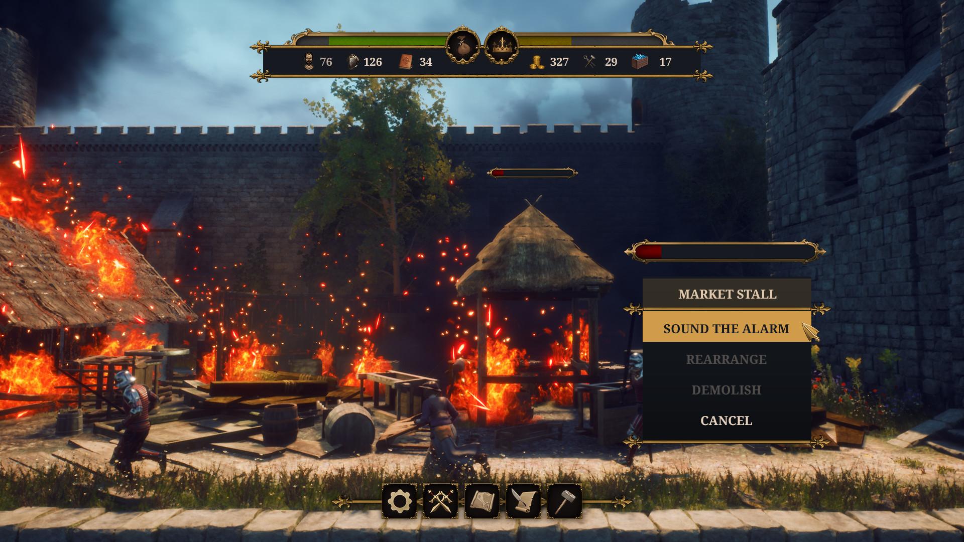 模拟经营游戏《城堡经理》上架Steam 支持简体中文