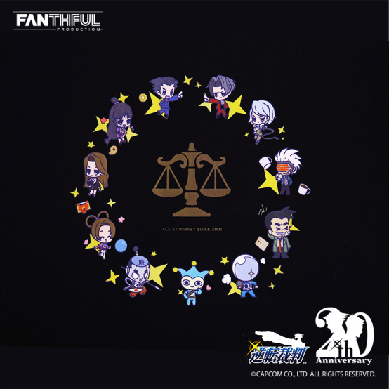 FANTHFUL【20周年纪念】《逆转裁判》官方正版授权系列周边产品