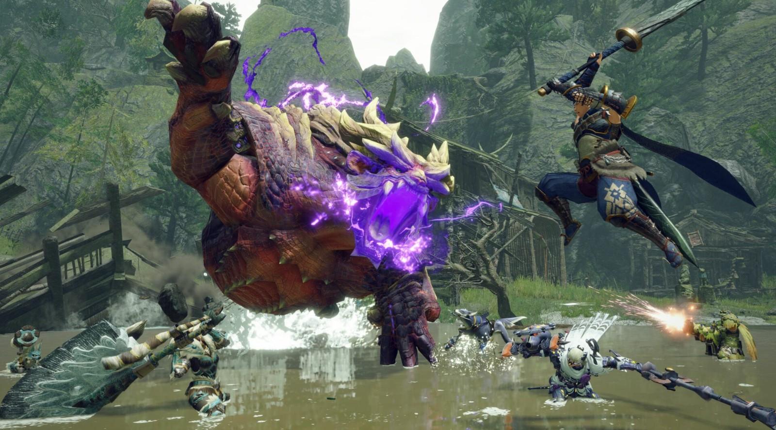 《怪物猎人:崛起》PC版对比Switch版视频