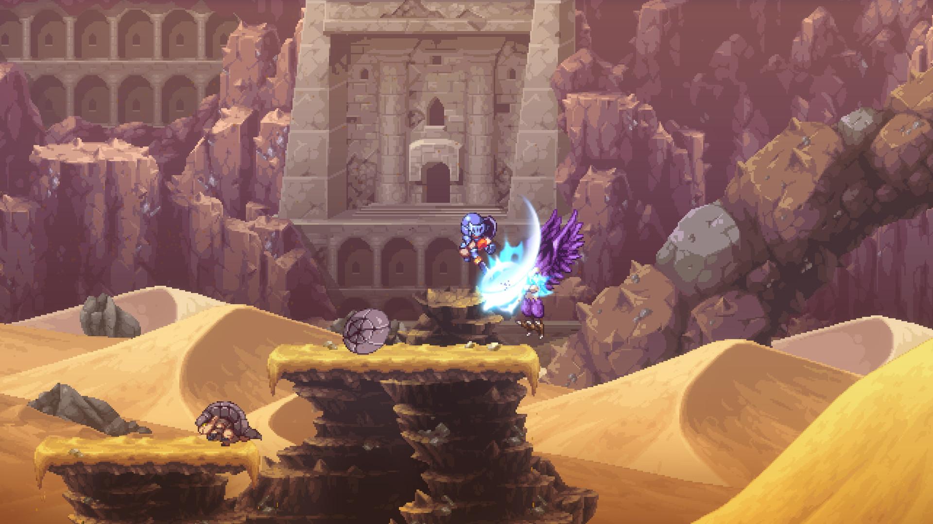 类银河战士恶魔城游戏《Souldiers》上架Steam 支持简体中文