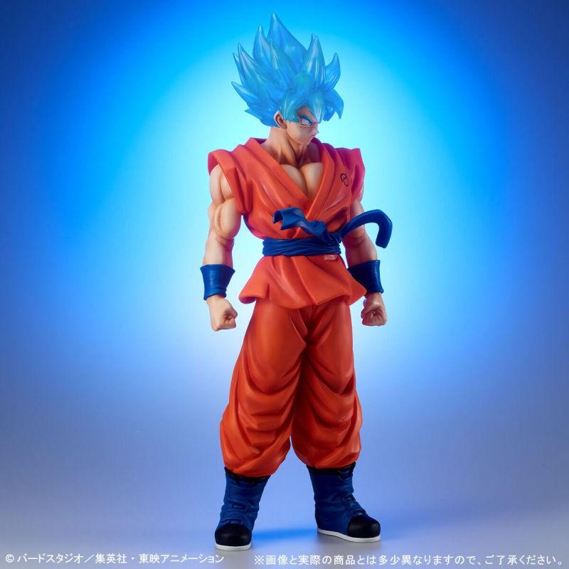 万代X-PLUS「巨大系列」超级赛亚人蓝孙悟空人偶 售价14300日元