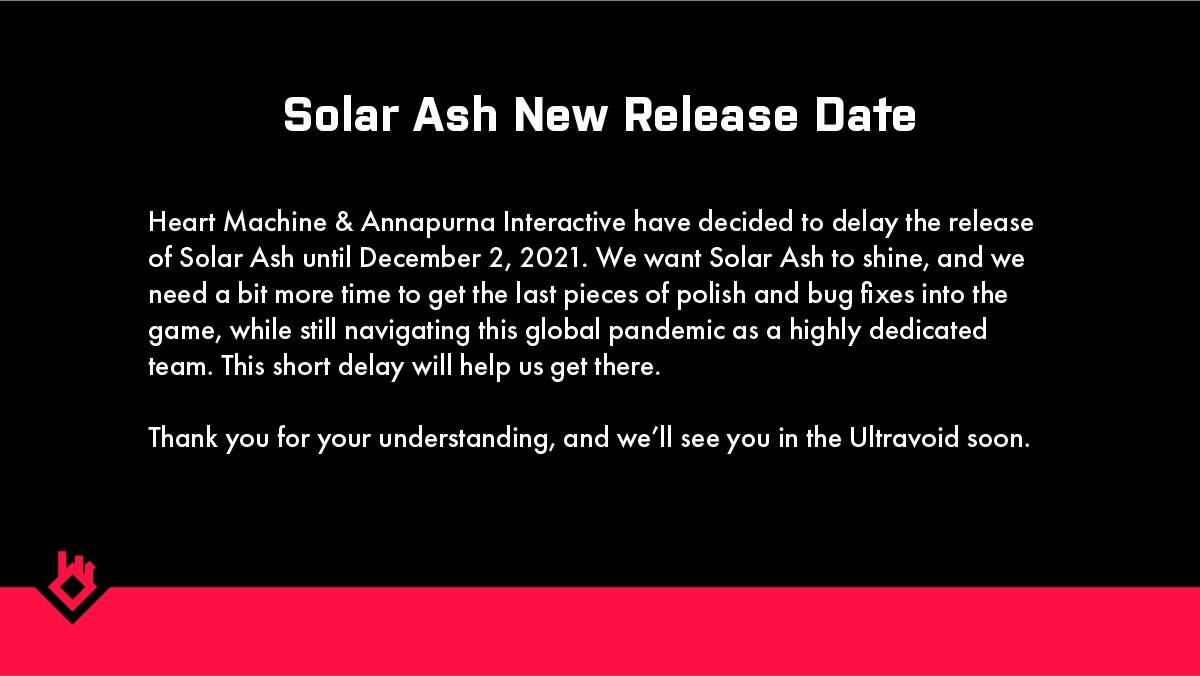 3D风格化动作游戏《太阳灰国》延期至12月2日上市
