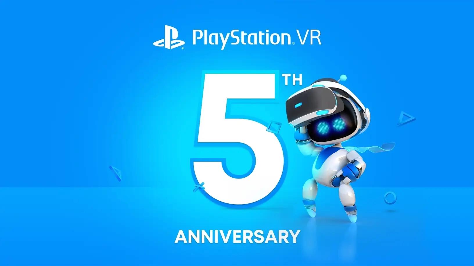 庆祝PSVR 5周年 11月PS+会员将获双倍免费游戏