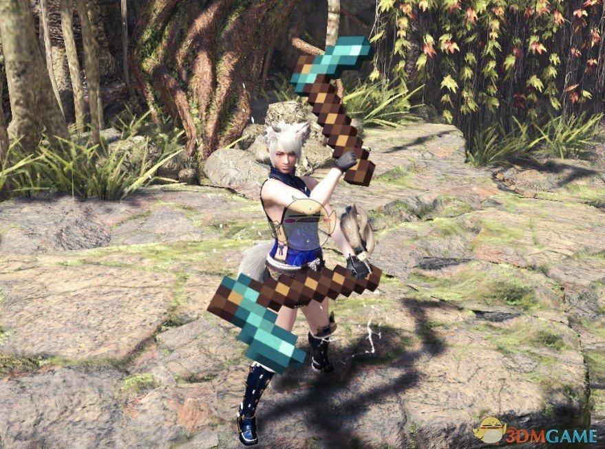 《怪物猎人:世界》我的世界武器包MOD