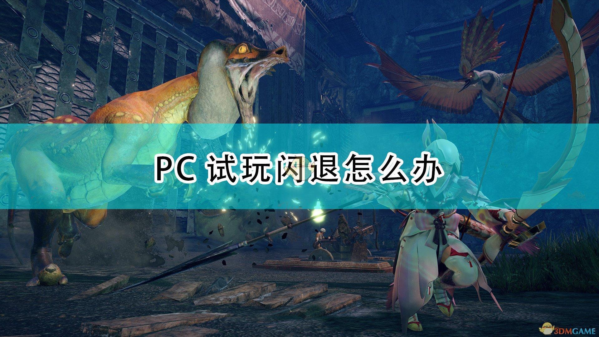 《怪物猎人:崛起》PC试玩闪退解决方法介绍