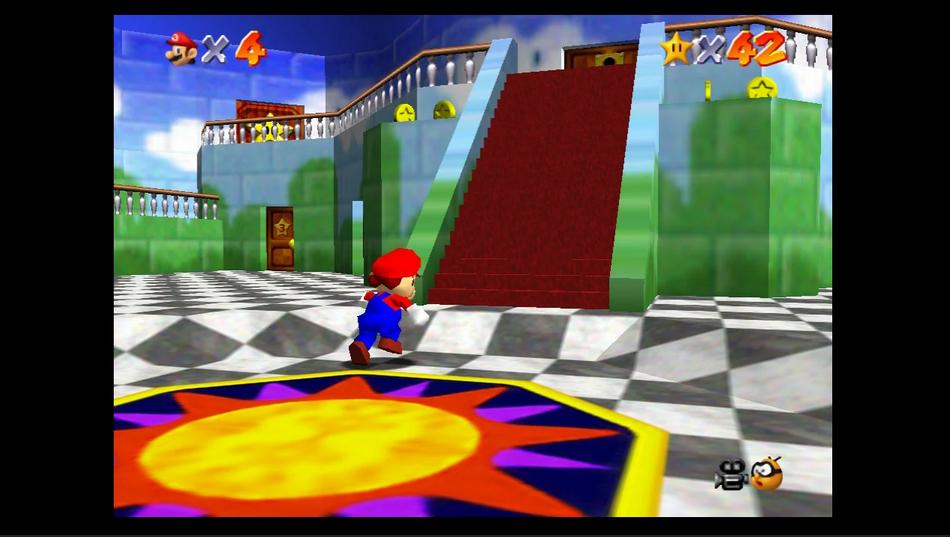 Switch Online版《马里奥64》并非《3D全明星》版游戏