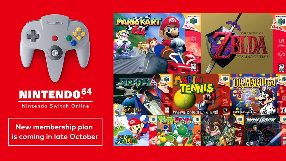 Switch Online版《马里奥64》并非《3D全明星》版游戏 具体消息等官方通知