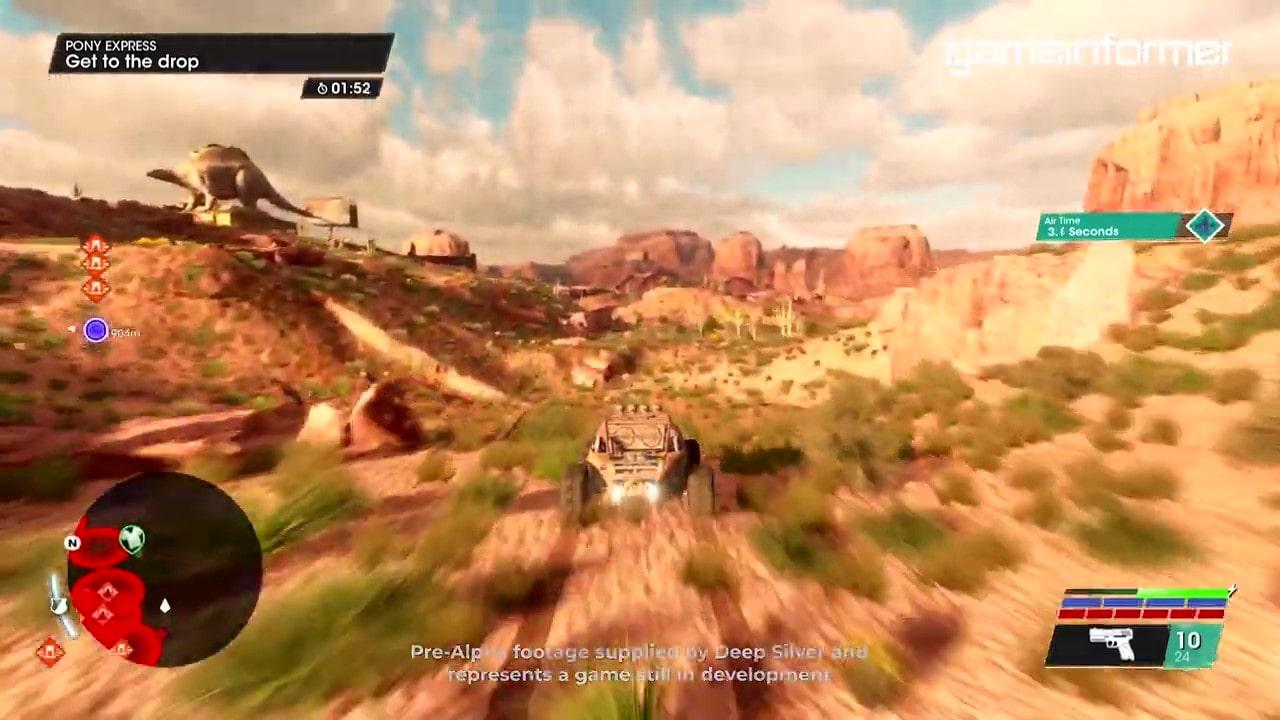 《黑道圣徒:重启版》漂移及随车战斗演示 目前标准版售价209元