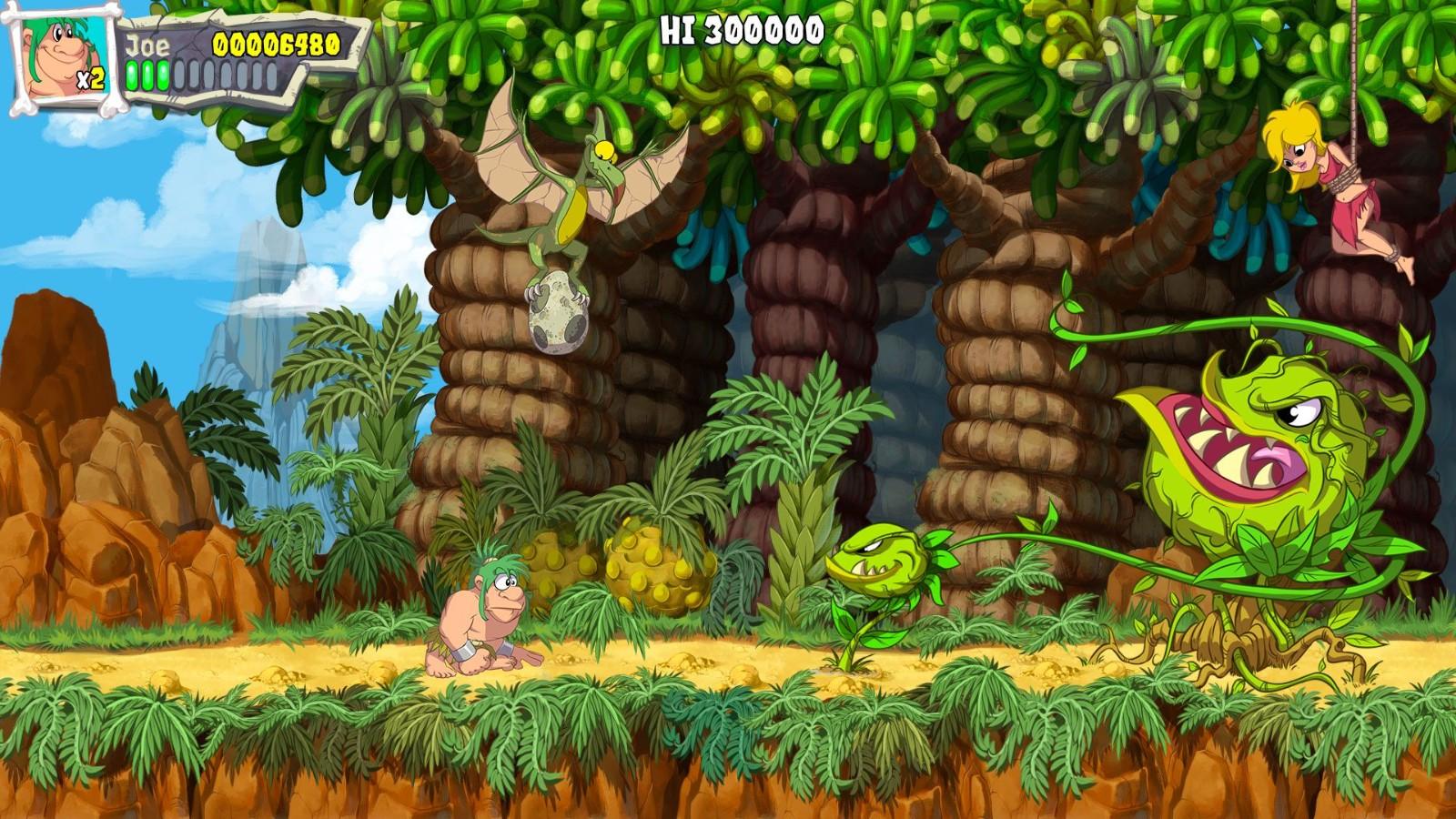 儿时经典游戏《战斗原始人》宣布明年推出重制版