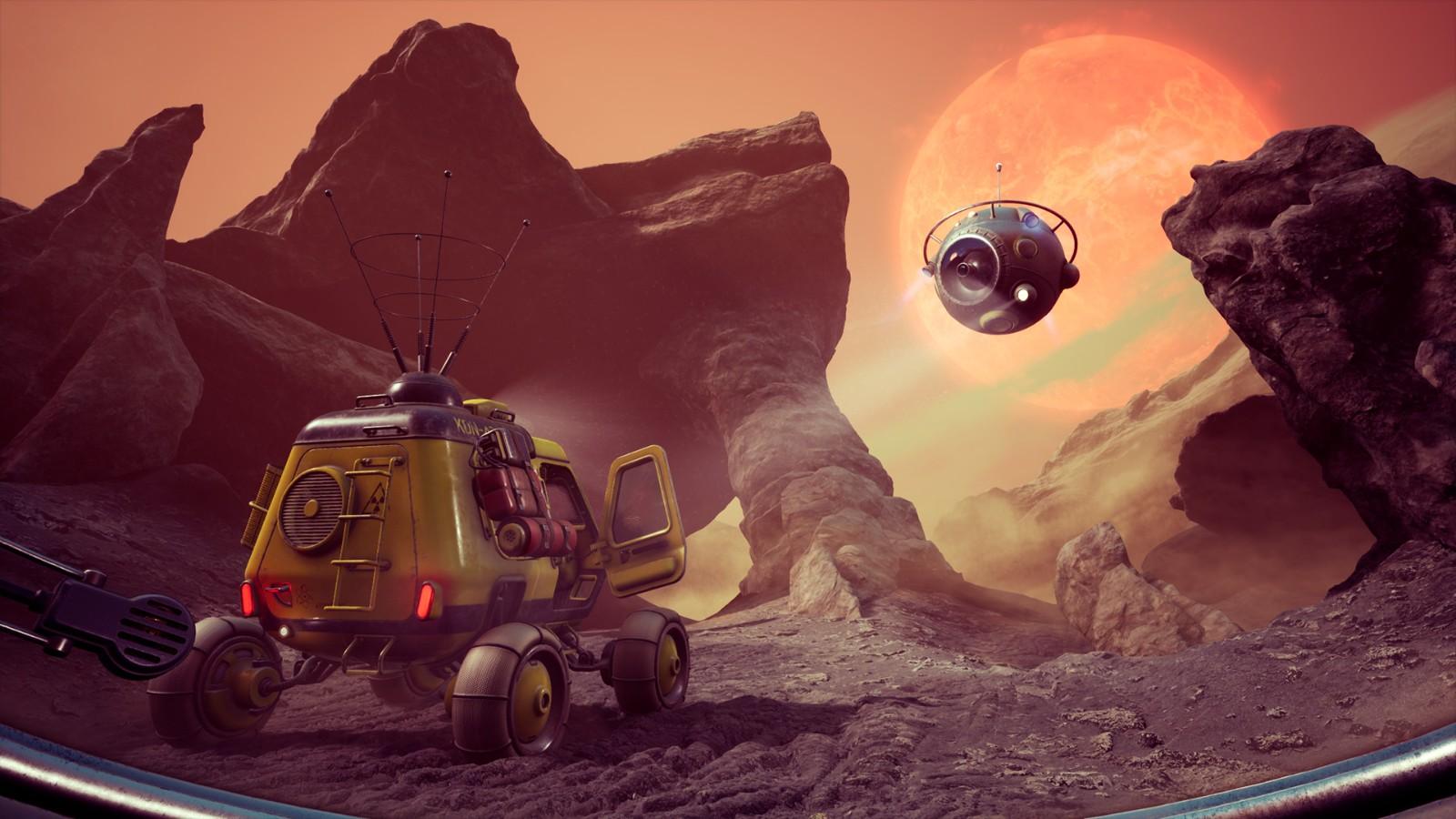 科幻游戏《不可战胜》新预告 虚幻4引擎打造预计2022年上市