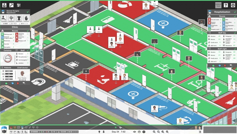 《医院计划》v1.2.22362免安装中文版