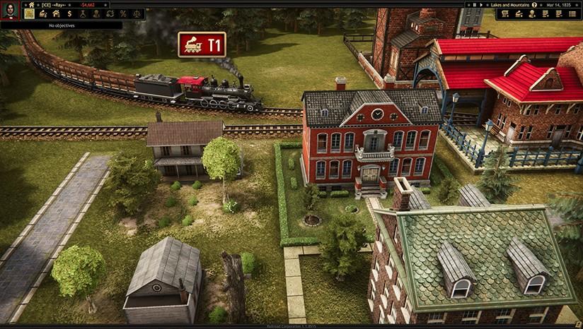 《铁路公司/Railroad Corporation》v1.1.12999集成All or Nothing DLC免安装中文版