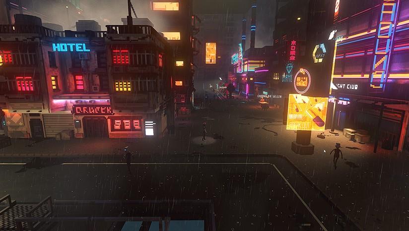云端朋克城/云城朋克/Cloudpunk(集成鬼影之城DLC)