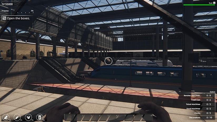 火车站改造王/火车站翻修/火车站装修 v2.2.0.1/Train Station Renovation插图2