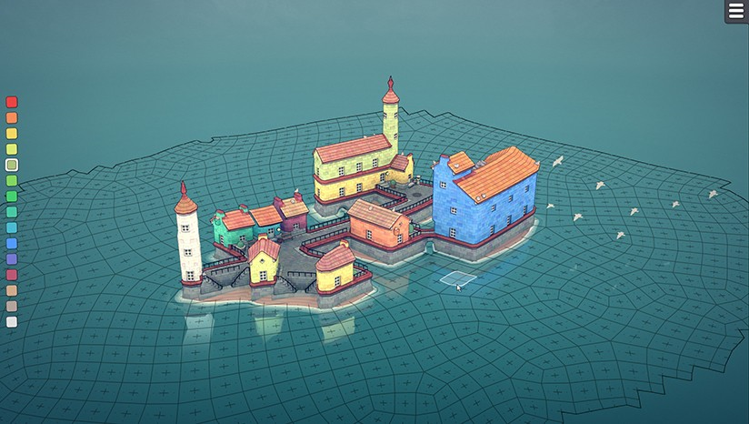 《城镇叠叠乐/Townscaper》v1.0 for mac