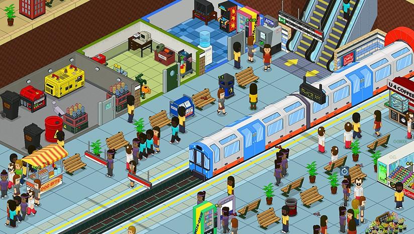 《通勤地铁战》免安装中文版
